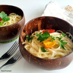 Alfredo spaghetti #spaghetti #alfredo #zapachapetytu
