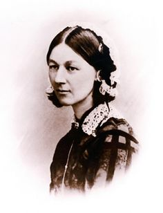 """Florence Nightingale was an advocate of the miasma theory,which was that diseases were caused by """"bad air"""". The air or 'miasma' was foul smelling and filled with particles of decomposed matter that could cause illnesses. It was thought that the miasma could be eliminated by cleaning and ensuring good ventilation. During the cholera outbreak in 1854, Florence volunteered to nurse patients from Soho, London, at the Middlesex Hospital. T"""