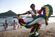 Taste of the Mauritian Sega (Pronounced Saygah). The Sega is a dance which originated from the ritual music of Madagascar and the mainland of Africa, and it is the Musical Expression of the Mauritian Way of Life: Joy, Carefree and Lively.  Originally sung by men and women who had been sold as slaves but whose souls had remained sensitive to music, the Sega is nowadays a folksong which has integrated itself within the framework of our folklore.