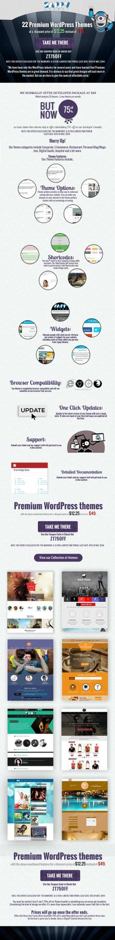 WordPress Web Design Company London · Grab 75% OFF on Our Premium WordPress  Theme Bundle before 16th May 2014. Premium 5a0c91f786