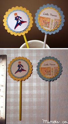 "Minois - Paper table toppers ""Little Prince"""