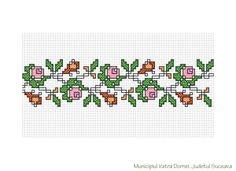 Visit the post for more. Cross Stitch Borders, Cross Stitch Rose, Cross Stitch Flowers, Cross Stitch Embroidery, Embroidery Patterns, Vintage Cross Stitches, Point Lace, Diy Flowers, Perler Beads