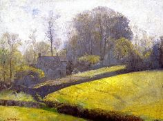 bofransson:    Springtime in Sussex - Tom Roberts - 1921