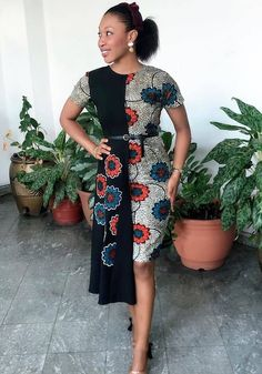 13 Best Women Ankara Styles For Church and Wedding Ankara dress and young ladies with swag and respect. African fashion outfits ideas for sunday Source by wendyloveserwaa dress modern Short African Dresses, African Lace Styles, Latest African Fashion Dresses, African Print Dresses, African Print Fashion, Ankara Fashion, Africa Fashion, African Prints, African Style