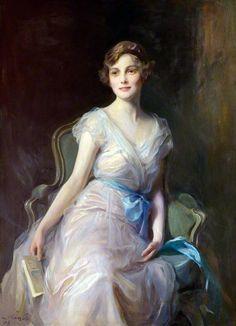 Miss Leicester Warren (1929) Philip Alexius de Laszlo (Hungría/Inglaterra, 1869-1937) Academicismo Cosmopolita