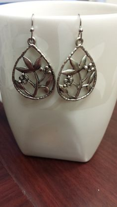 The Lily Earrings by TheCoralDahlia on Etsy, $16.00
