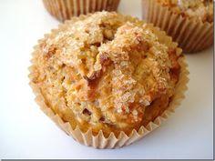 coconut carrot quinoa muffins.