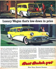 1955 Buick wagon ad.