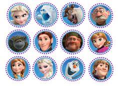 Disney Frozen Stickers  Favor Stickers  Envelope Seals by TootnBoo, $6.00