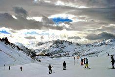 Lech-Zurs am Arlberg, Tirol, Austria colour print by Andy Evans Photos #lech #photography #art