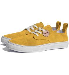 Buddy Mustard Corgi Shoes