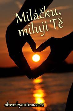 Více obrázků pro Miluji tě - klikněte zde Illusions, Poems, Love You, Advice, Motivation, Appliques, Funny, Quotes, Inspiration