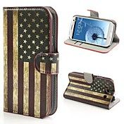 USA Flag Pattern PU Leather with Stand Cover ... – USD $ 8.99