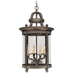 Entry? $400 World Imports Chatham Collection 4-light Hanging Interior Lantern