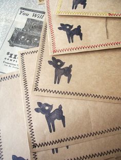 WhiMSy love: Quick-Sew Envelopes