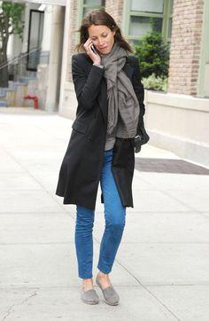 1e3b71808f6 Christy Turlington, easy breezy cover girl on the streets. Emmanuelle Alt,  Casual Σύνολα