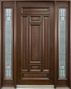 Are you looking for the best wooden doors for your home that suits perfectly? Then come and see our new content Wooden Main Door Design Ideas. Main Door Design Photos, Single Main Door Designs, House Main Door Design, Wooden Main Door Design, Main Entrance Door Design, Modern Wooden Doors, Leelah, Wood Entry Doors, Garage Doors