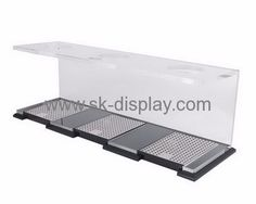 Acrylic items manufacturers customized acrylic coffee cup holder stand SOD-205