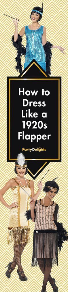 Find out how to dress like a flapper with our 1920s fancy dress ideas.  Includes b6235756655