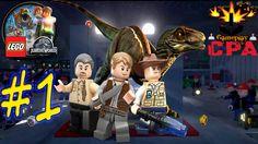 LEGO JURASSIC WORLD #1 - AREA DE TRANSFERENCIA - PT-BR