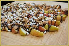 Nutella apple snack