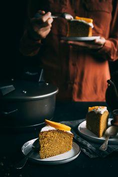 Pomarančový koláč Fruit Cakes, Tarts, Sweet, Cake Rolls, Pies, Pie, Tart, Animal Print Cakes