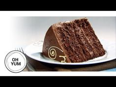 Chocolate Cake is the best cake, period, but have you ever wonder how to make the best chocolate cake in the world? Anna Olson is here to show you how to tak. Amazing Chocolate Cake Recipe, Best Chocolate Cake, Melting Chocolate, Chocolate Heaven, Anna Olson, Cake Cookies, Cupcake Cakes, Cupcakes, Brownie Cake