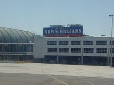 New Orleans Airport. Landed here for fuel in the Lear 24 on a charter return trip to VNY from FLL.