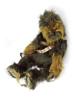 """Just ordered one of these for """"nora"""" :) cc: @Ann Peavey #starwars #chewie #Chewbacca #geek #toys"""