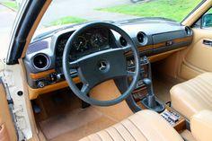 1980 Mercedes Benz 280CE Interior
