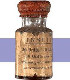 Insulin in it's early years...