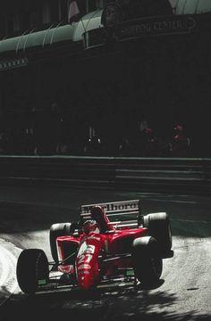Jean Alesi (Ferrari ) - Grand Prix de Monaco 1995 - Fascination Formula 1