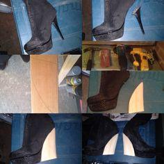 From stiletto heel to Wedge heel