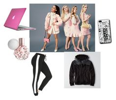 """""""binge watch Scream Queens"""" by tessa-smithyyyy ❤ liked on Polyvore featuring American Eagle Outfitters, Speck, women's clothing, women's fashion, women, female, woman, misses and juniors"""