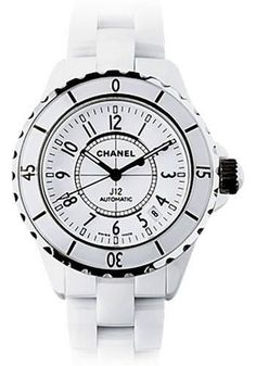 Chanel - J12 White Ceramic 38mm Automatic Watch H0970