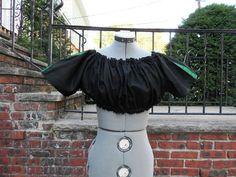 Black Ultra Mini chemise w/ Trim SCA medieval wench Renaissance Pirate Gypsy   eBay $18.99