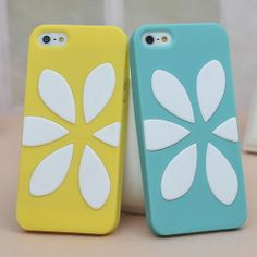 Price:$15.99 Flower Silicone Cover Case for Iphone 5