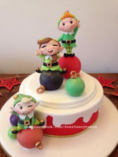 Another Christmas cake :)  - Cake by Zoe's Fancy Cakes