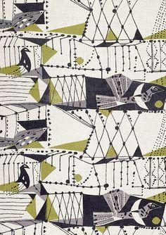 Graphic Design - Pattern Design - Textile Design by John Drummond. Pattern Design : – Picture : – Description Textile Design by John Drummond. -Read More – Design Textile, Textile Prints, Fabric Design, Motifs Textiles, Textile Patterns, Vintage Textiles, Surface Pattern Design, Pattern Art, Graphic Patterns
