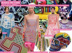 SS 2016 Women's Key Materials, Beaded Patterns