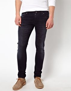 Nudie Jeans Tight Long John Skinny Fit Black and Grey. I love the fit on these! One of my favorite pairs. :)