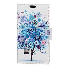 Housse folio Samsung Galaxy S8,etui protection arbre Sam_cas730057