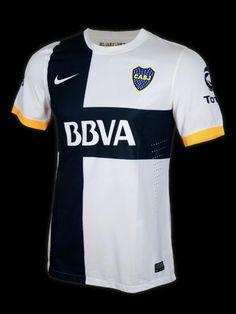 BOCA AWAY AUTH JRS - White. White and Black - BocaCamisetas - Nike Futbol Argentina Store