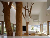 Garden Tree House - Prefettura di Kagawa, Japón - 2010 - Hironaka Ogawa & Associates