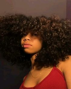 90 easy hairstyles for naturally curly hair - Hairstyles Trends Natural Hair Tips, Natural Curls, Natural Hair Styles, Big Hair, Your Hair, Aesthetic Hair, Hair Laid, Black Girls Hairstyles, Hair Journey