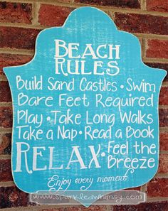 Summer Sign, Beach Sign, Ocean Sign