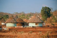 African Huts by South African Tourism, via Flickr