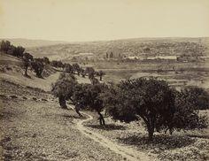 March-April 1862. Jerusalem from the Mount of Olives. Март-апрель 1862. Иерусалим с Масличной горы