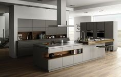 Goldrieff, Poggenpohl The high-end German casegoods manufacturer adds a mid-market option to its lineup with the launch of Goldrieff in the U.S. The collection of three cabinet systems in contemporary and classic styles features 113 door types in solid wood and veneer with a combined 44 finishes.