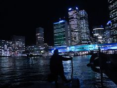 Titled 'My City, My Rules' this is a photo during Vivid 2012 festival in Sydney - Brought to you by Sidpicky